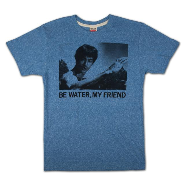 Bruce Lee Be Water T-shirt by Homage