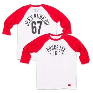 Bruce Lee JKD Youth 3/4 Sleeve Raglan Tee by Under Armour