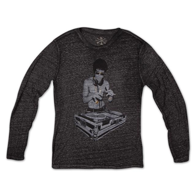 Bruce Lee Gung Fu Scratch Long Sleeve Tee by Bow & Arrow