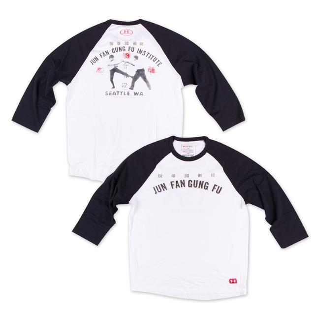 Bruce Lee Jun Fan Gung Fu Institute Raglan Tee LG