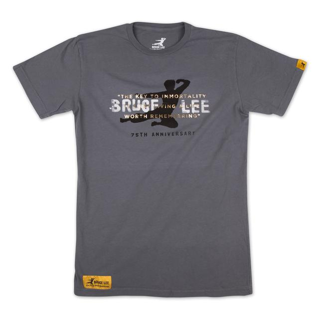 Bruce Lee 75th Immortality Flying Man T-shirt