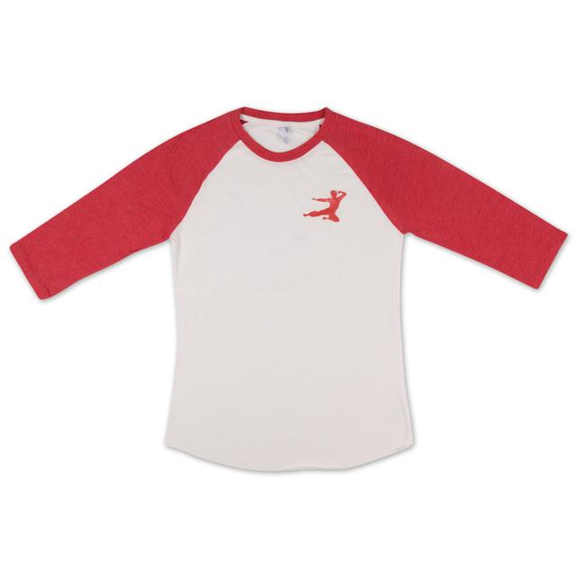 Bruce Lee Flying Man Raglan T-Shirt