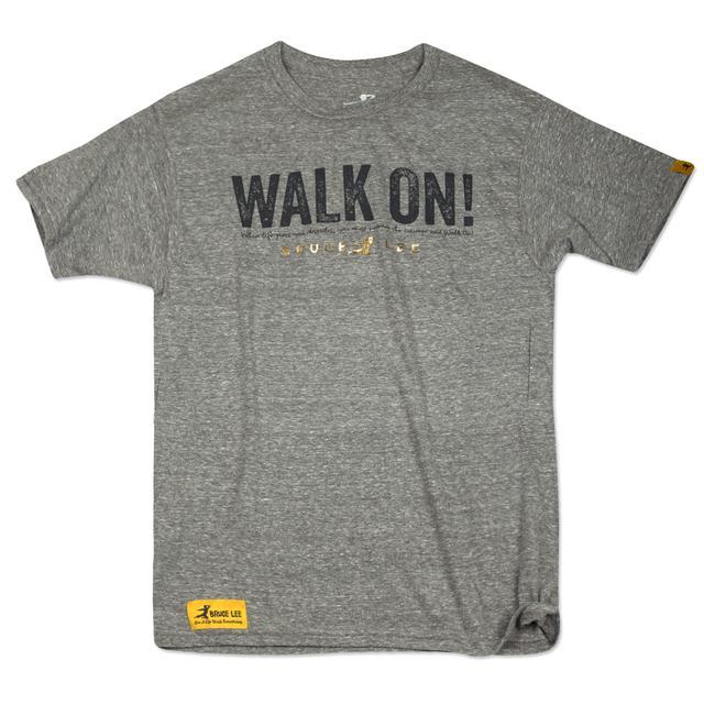 Bruce Lee WALK ON! Tri-Blend T-Shirt