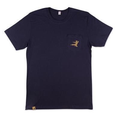 Bruce Lee Flying Man Pocket T-shirt