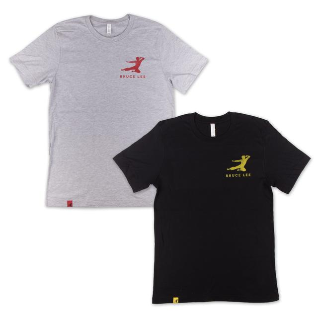 Bruce Lee Small Logo Flying Man Unisex T-Shirt