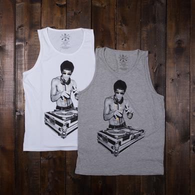 Bruce Lee DJ Dragon Men's Tank