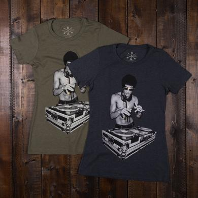 Bruce Lee DJ Dragon Women's T-shirt