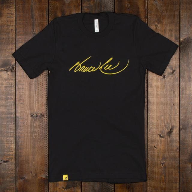 Bruce Lee Signature Unisex T-shirt Black