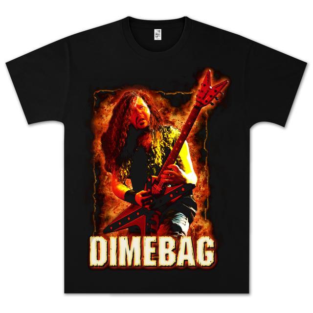 Dimebag Darrell Fire Frame T- Shirt