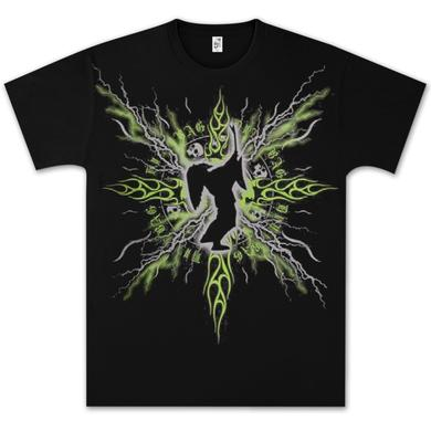 Dimebag Darrell Electric Silhouette T- Shirt