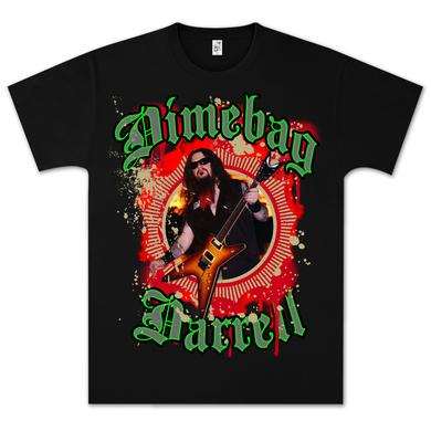 Dimebag Darrell Guitar Burst T-Shirt