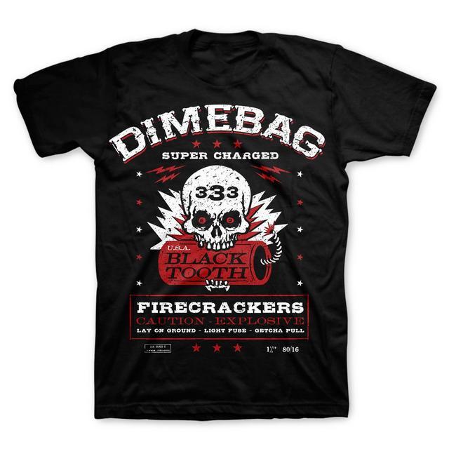 Dimebag Darrell Firecracker Label T-Shirt