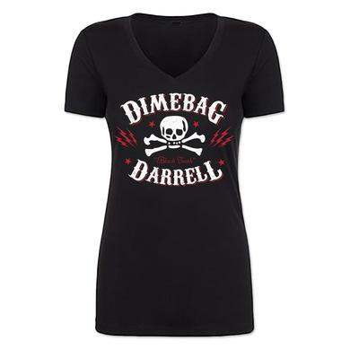 Dimebag Darrell Lightning Skull Junior V-Neck