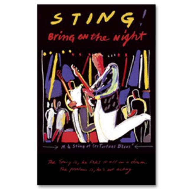 Sting Bring On The Night DVD