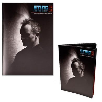 Sting Symphonicity Tour Program