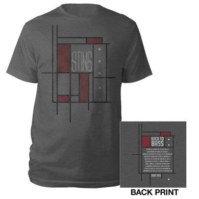 Sting Back To Bass Geometric Shirt