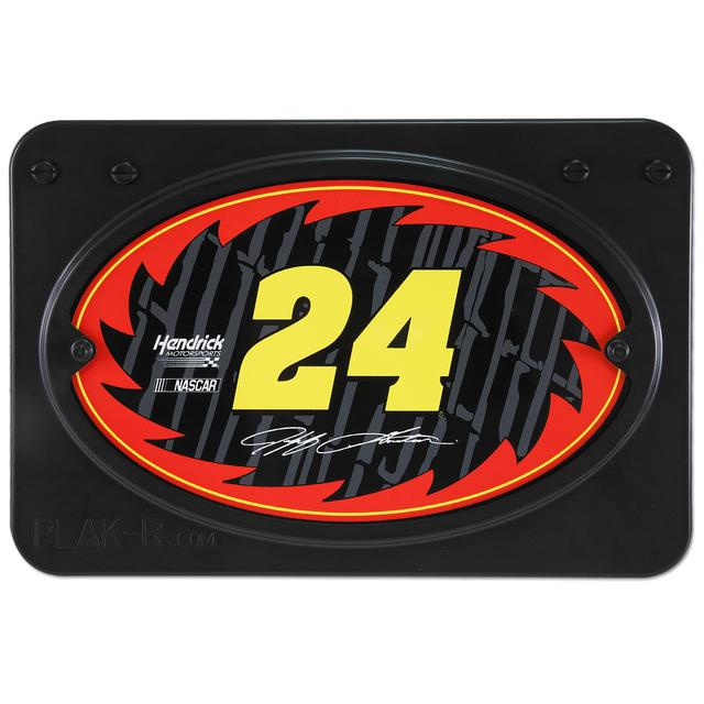 Hendrick Motorsports Jeff Gordon #24 Xtreme plaX RV Ladder Mounted Plaque