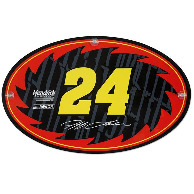 Hendrick Motorsports Jeff Gordon #24 Xtreme plaX Reversible Suction Plaque