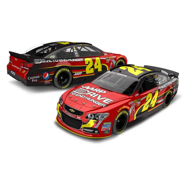 Hendrick Motorsports Jeff Gordon #24 2013 Drive to End Hunger 1:24 Scale Diecast COLOR CHROME