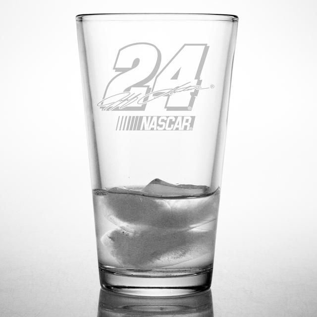 Hendrick Motorsports Jeff Gordon 16oz Etched Pint Glass
