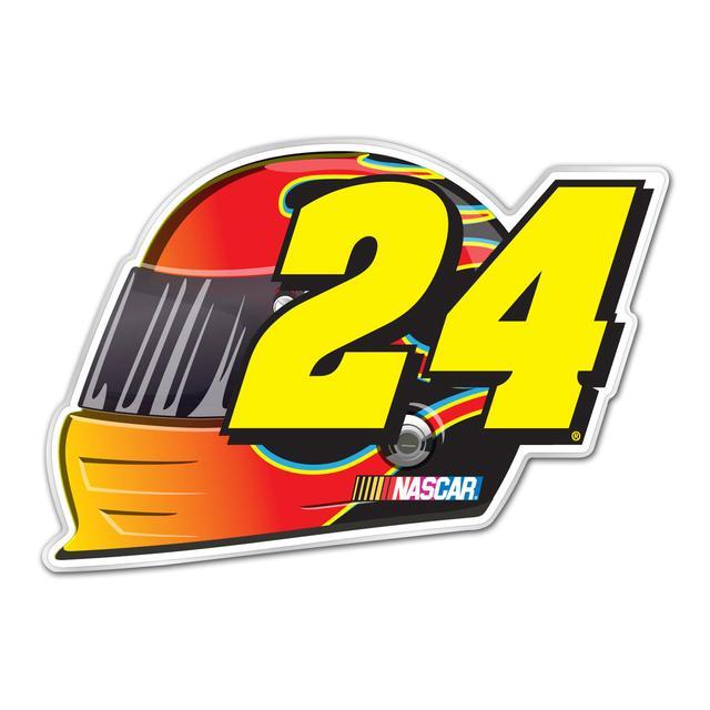 Hendrick Motorsports Jeff Gordon #24 Helmet Grill Emblem