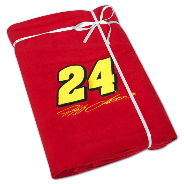 Hendrick Motorsports Jeff Gordon #24 Fleece Throw Blanket
