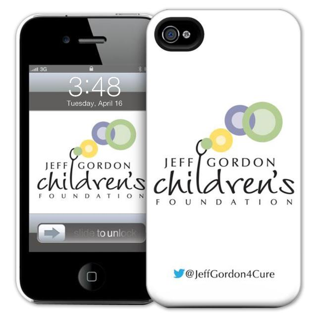 Hendrick Motorsports Exclusive Jeff Gordon Childrens Foundation iPhone 4/4s Case