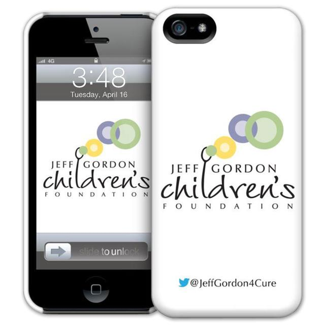 Hendrick Motorsports Exclusive Jeff Gordon Childrens Foundation iPhone 5 Case