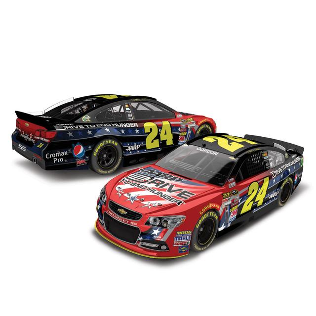 Hendrick Motorsports Jeff Gordon #24 2013 Drive to End Hunger Unites 1:24 Scale Diecast HOTO