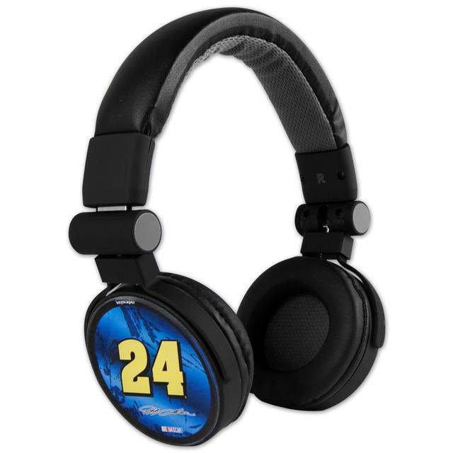 Hendrick Motorsports Jeff Gordon #24 Pepsi DJ Style Headphones