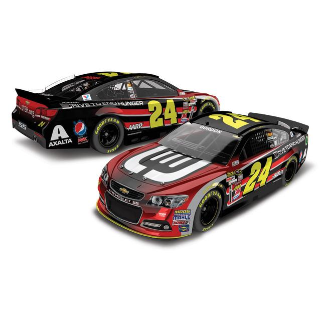 Hendrick Motorsports Jeff Gordon #24 2014 DTEH 1:24 Scale Diecast COLOR CHROME
