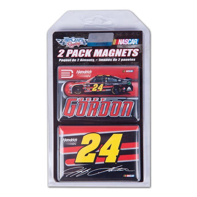 Hendrick Motorsports Jeff Gordon-2014 2x3 magnet 2 pack