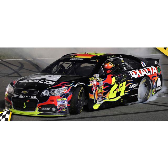 Hendrick Motorsports Jeff Gordon #24 2014 5-Hour Energy 400  Spring Race Winner 1:24 Scale Diecast