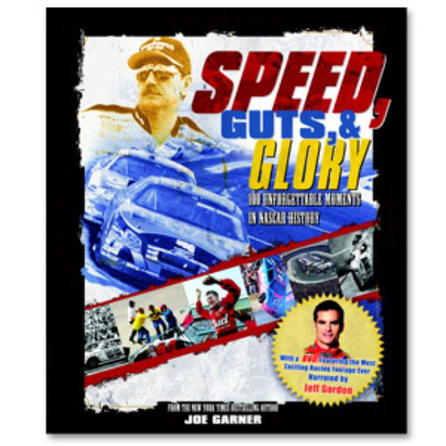Hendrick Motorsports Jeff Gordon Speed, Guts and Glory - Book/DVD