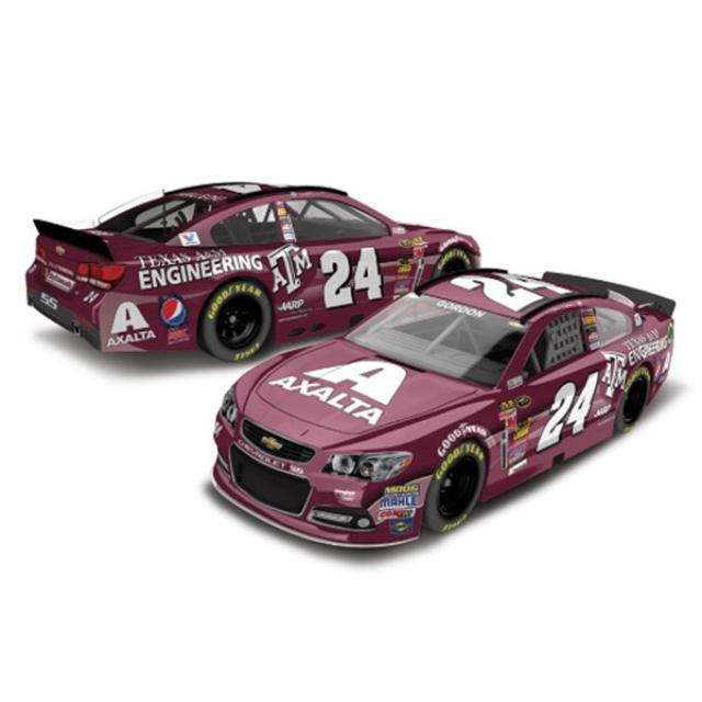 Hendrick Motorsports Jeff Gordon - #24 Texas A&M  2014 Nascar Sprint Cup Series Diecast 1:64 Scale HT