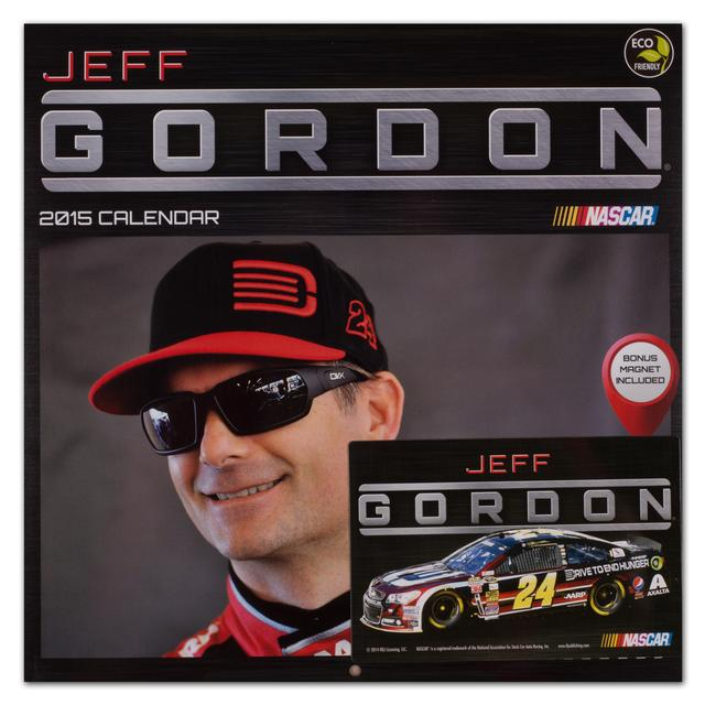 "Hendrick Motorsports Jeff Gordon #24 2015 12""x 12"" Wall Calendar"