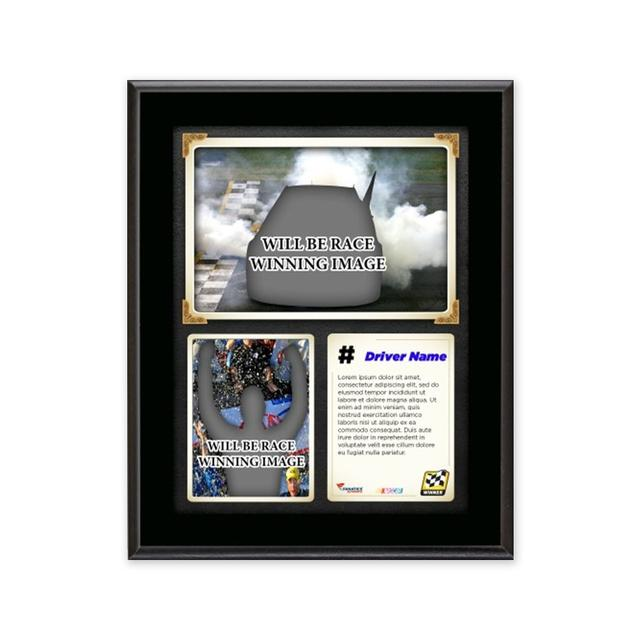 Hendrick Motorsports Jeff Gordon #24 2015 Martinsville Race Winner Sublimated 10.5'' x 13'' Plaque
