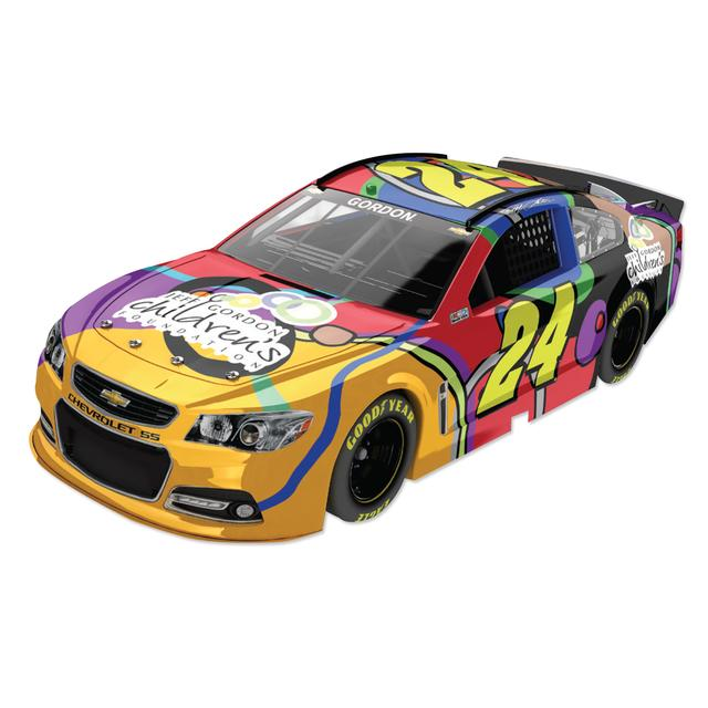 Hendrick Motorsports Jeff Gordon  - #24 Jeff Gordon Children's Foundation 2014 Fantasy Nascar Sprint Cup Series Diecast 1:64 Scale