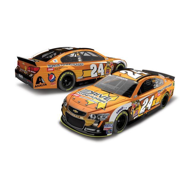Hendrick Motorsports Jeff Gordon  - #24 DTEH Chevrolet SS  2014 Nascar Sprint Cup Series Diecast 1:24 Scale