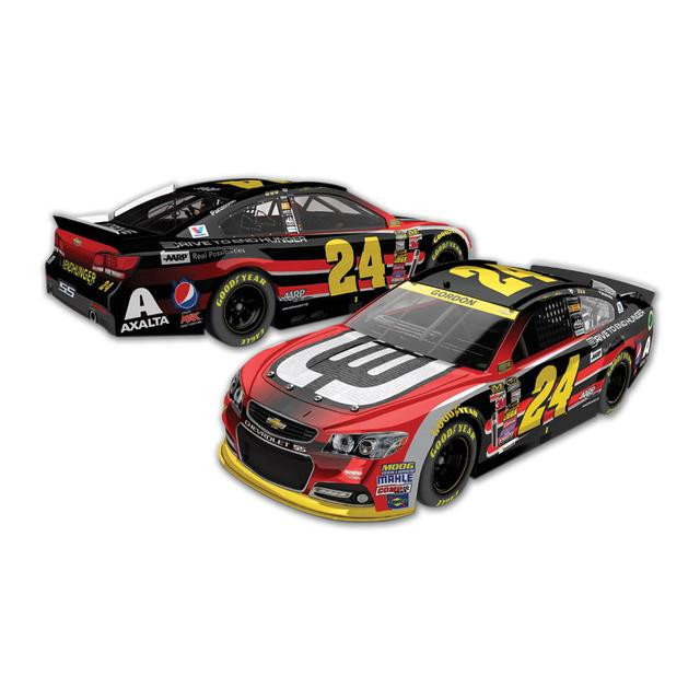 Hendrick Motorsports Jeff Gordon  - #24 DTEH Chevrolet SS  2014 Nascar Sprint Cup Series Diecast 1:24 Scale Color Chrome