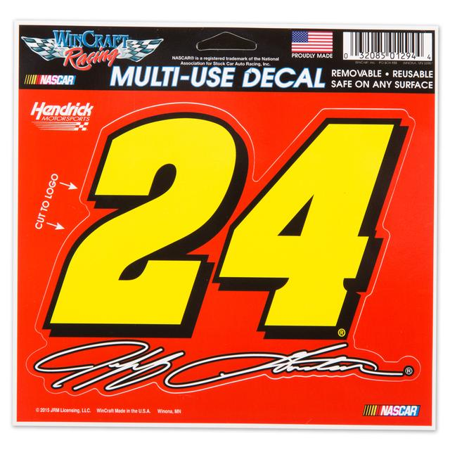 Hendrick Motorsports Jeff Gordon 2015 5X6 Decals Multi Number