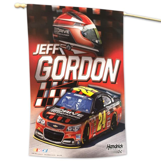"Hendrick Motorsports Jeff Gordon 2015 27"" x 37"" Vertical Flag"
