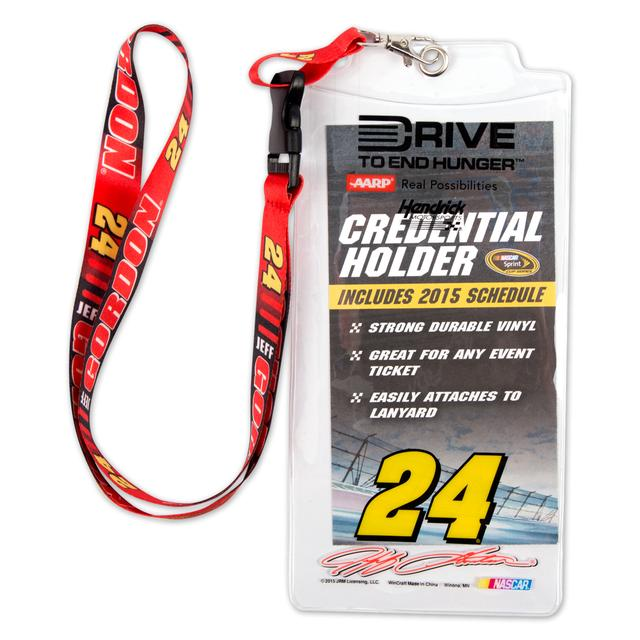 Hendrick Motorsports Jeff Gordon 2015 Lanyard/Credentials