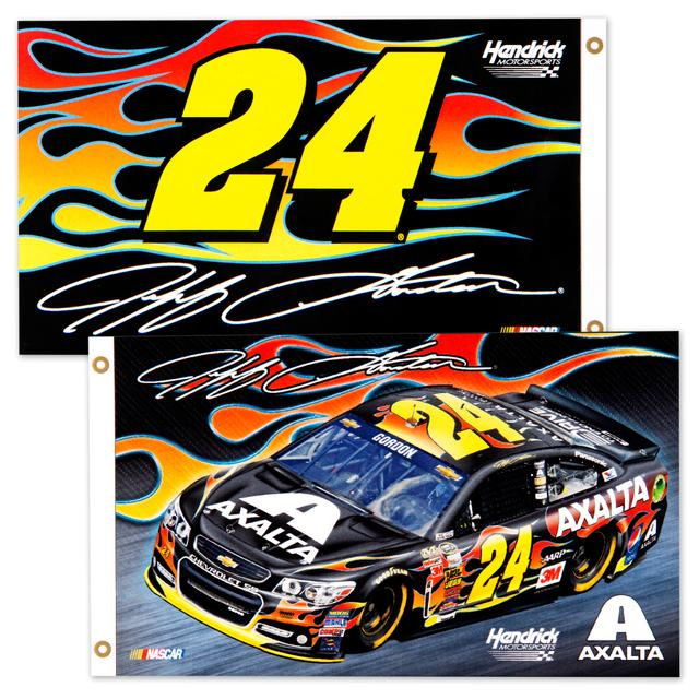Hendrick Motorsports Jeff Gordon 2015 2 Sided 3X5 Flag