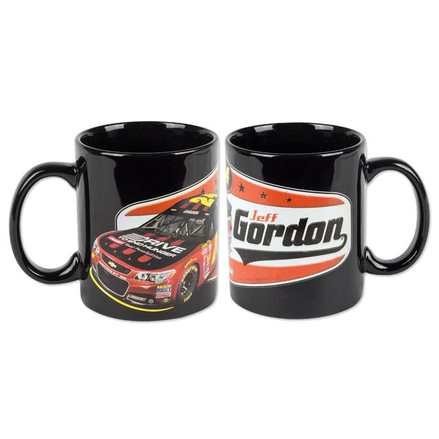 Hendrick Motorsports Jeff Gordon 2015 Cofee Mugs – Black