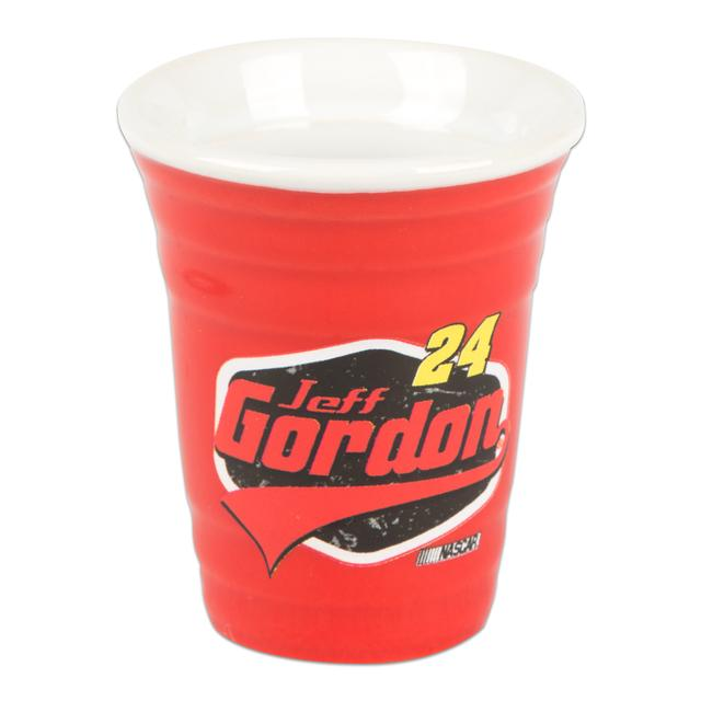 Hendrick Motorsports Jeff Gordon 2015 2 oz. Red Solo Cup Collectors Shot Glass