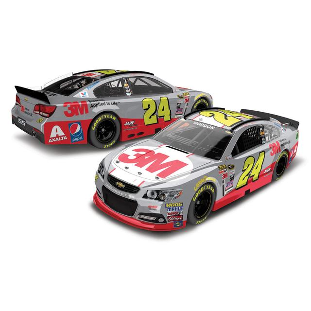Hendrick Motorsports Jeff Gordon 2015 #24 3M Race Day 1:24 Scale Nascar Sprint Cup Series Die-Cast