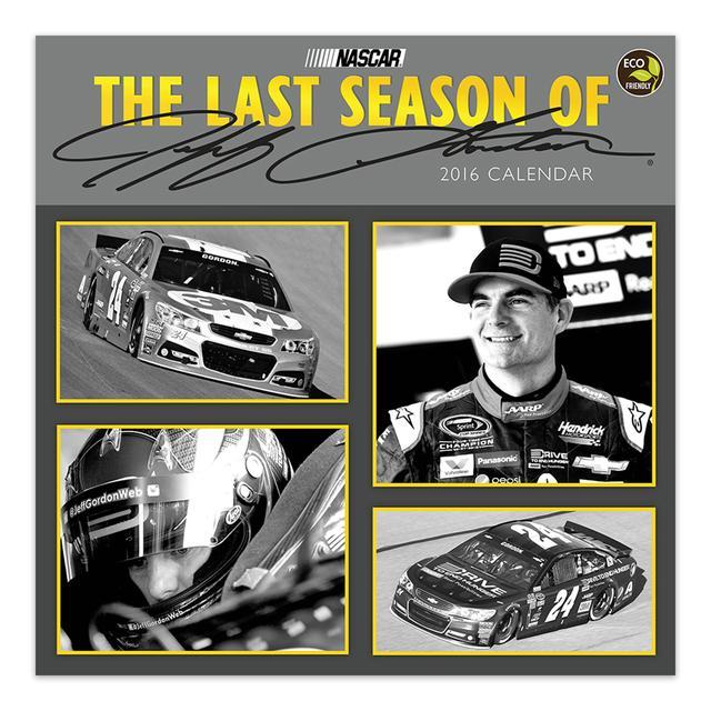 "Hendrick Motorsports Jeff Gordon #242016 12""x 12"" Special Commemorative Wall Calendar"