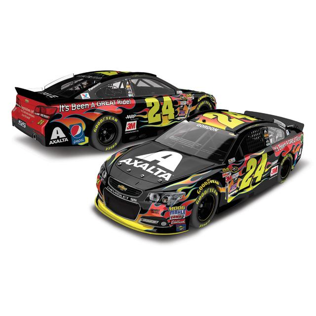 Hendrick Motorsports Jeff Gordon 2015 #24 Axalta Homestead 1:24 Scale Nascar Sprint Cup Series Die-Cast