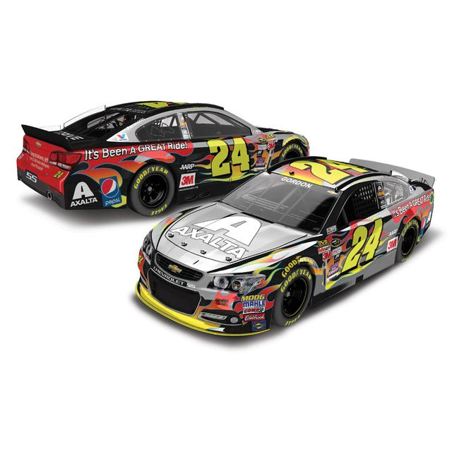 Hendrick Motorsports Jeff Gordon #24 1:24 Scale 2015 Axalta Homestead Color Chrome Diecast